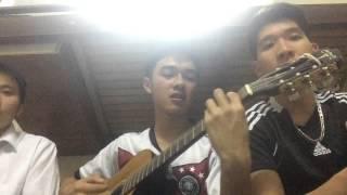 Mình đi đâu thế bố ơi!-Guitar Cover+Cajon Drum(Thành Giường)