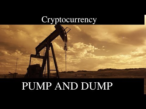Why I DO NOT Pump and Dump Cryptocurrency