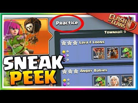 NEW Practice Mode GAMEPLAY! Sneak Peek For June 2019 Clash Of Clans Update!