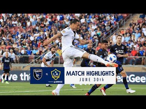 HIGHLIGHTS: San Jose Earthquakes vs. LA Galaxy | June 30, 2018