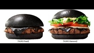 Burger King Releases an ALL Black Burger in Japan
