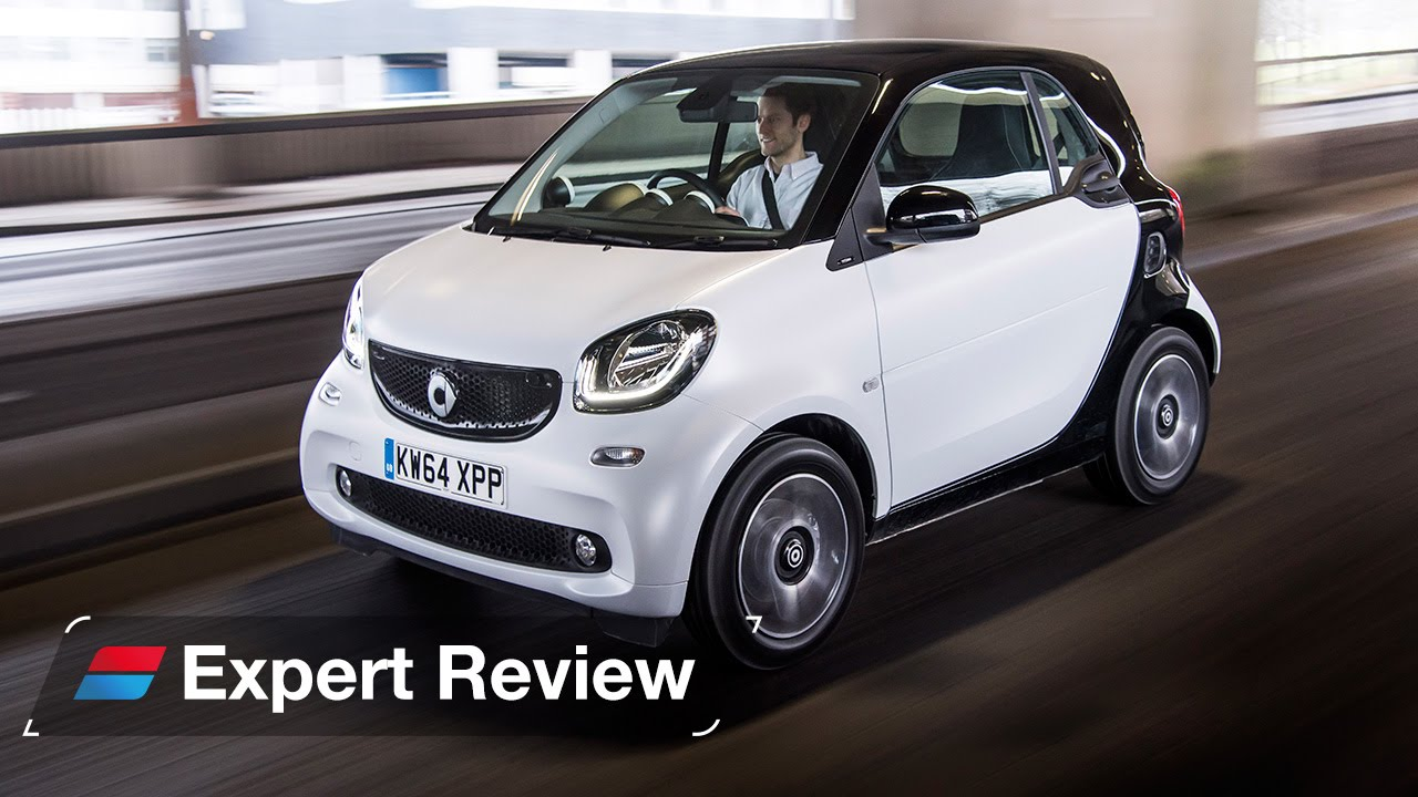 Smart fortwo car review - YouTube
