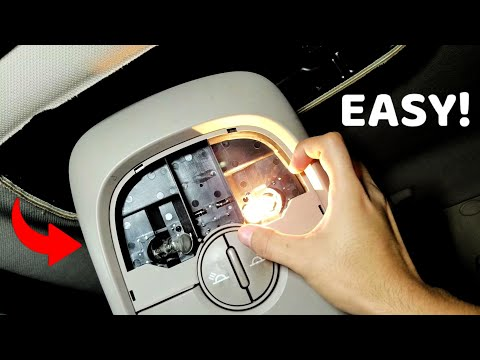 How To Fix A Inerior Dome / Map Light On A Kia Sorento!