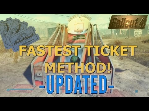 Fallout 4 - Eyes on the Prize - Fastest Ticket Method - Mat/Rug Glitch