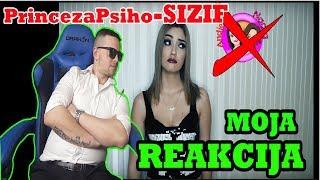 PrincezaPsiho ft. MilanPsiho - SIZIF *REAKCIJA*