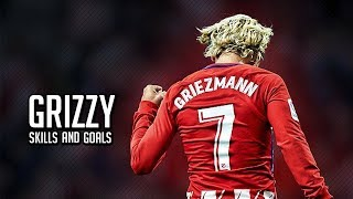 Антуан Гризманн 2018 Лучшие финты и голы. Antoine Griezmann 2018. Best skills and goals.