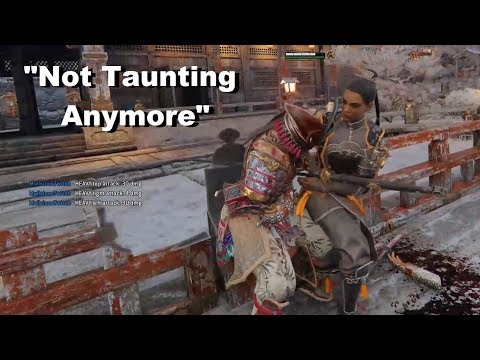 Don't Taunt Too Early - SunDa Ranked Duels [For Honor]