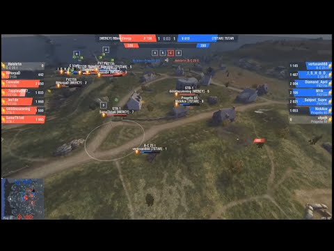 БОЙ ВЕКА! [MERCY] VS [7STAR] GRAND FINAL Wot Blitz!