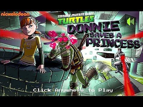 Teenage Mutant Ninja Turtles Donnie Saves A Princess