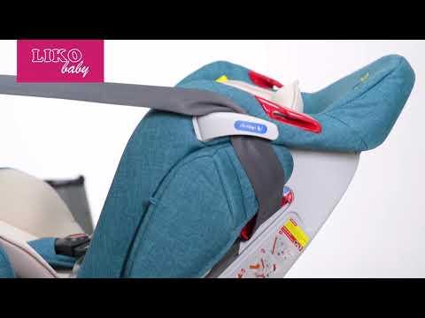 Liko Baby LB 510 | Установка Детского Автокресла в Автомобиль