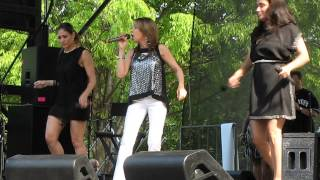 "The Cover Girls performing ""Wishing On A Star"" at The Bronx Week Co..."