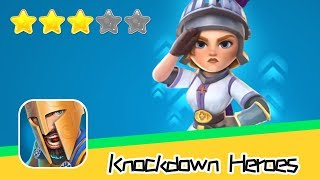 Knockdown Heroes Walkthrough Real Time Online PVP Battles! Recommend index three stars