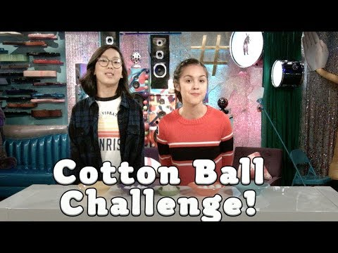 Cotton Ball Challenge | Bizaardvark | Disney Channel
