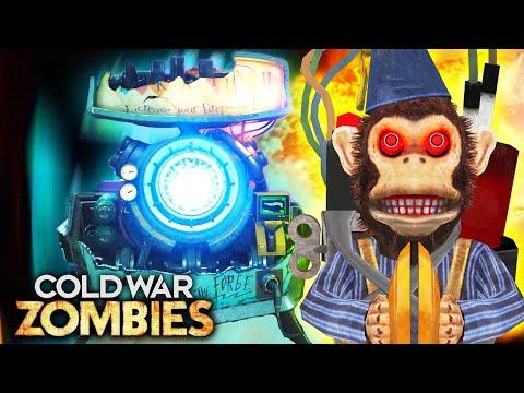 """FIREBASE Z"" MONKEY BOMB UPGRADE EASTER EGG GUIDE! (Cold War Zombies Easter Egg)"