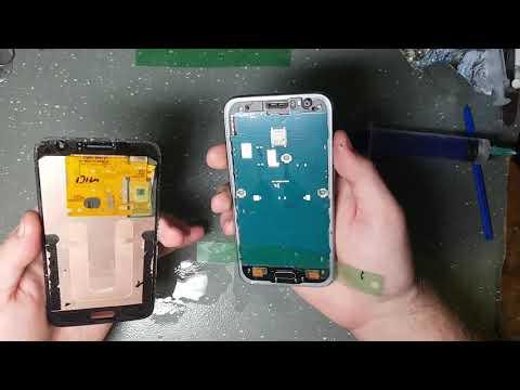 Разбор Samsung J120 (J1 2016), замена разъема USB