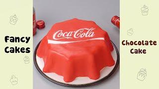 DIY Creative Coca  Cola Cake Decorating #shorts