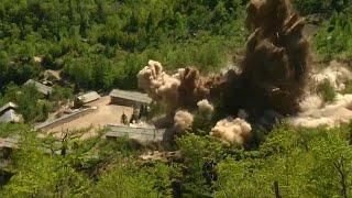 Corea del Norte destruye su centro de ensayos nucleares