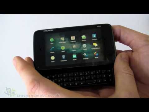 Nokia N900 unboxing video