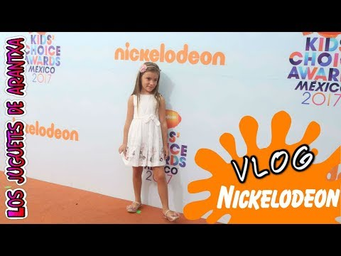 KIDS CHOICE AWARDS MÉXICO 2017 - Me invitan a la alfombra naranja - Premios Nickelodeon