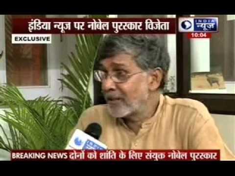 India News Exclusive interview with Kailash Satyarthi