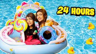 I Turned My House Into A *WATERPARK* For 24 Hours!! 🏖 | @Samreen Ali | Mahjabeen Ali