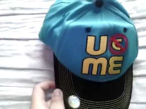 john throwback baseball hat wwe cena cap