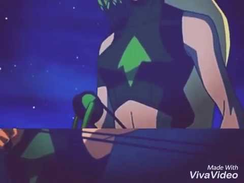 Young Justice Artemis tribute - through the glass