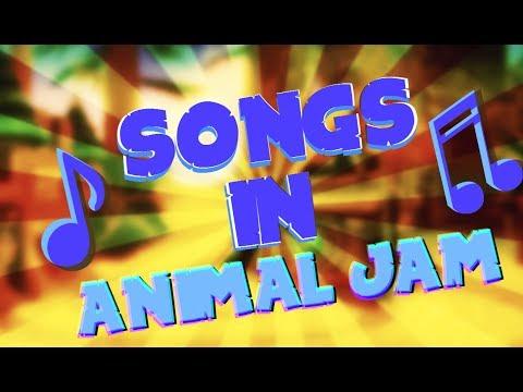 SONGS IN ANIMAL JAM!