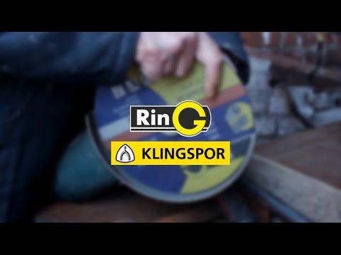 Сравнение абразивных кругов RinG и Klingspor