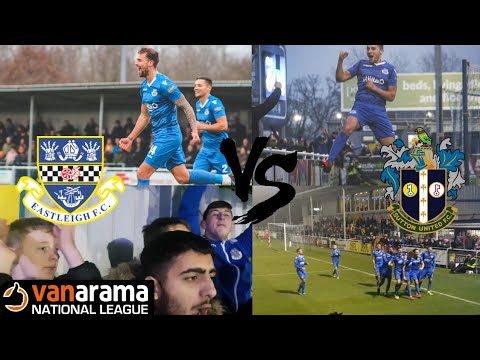 Eastleigh FC vs Sutton United Vlog 1819  3rd Home win in a row