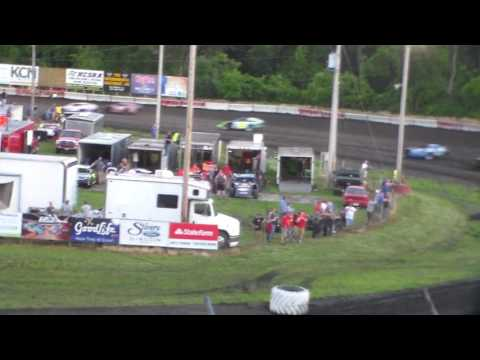 Modified Heat 3 @ Hamilton County Speedway 06/17/17