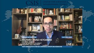CSIS South China Sea Conference 2020: Heydarian on Duterte, Trump & ASEAN