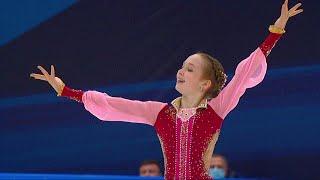 Произвольная программа Девушки Москва Кубок России по фигурному катанию 2020 21 Второй этап