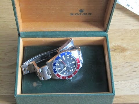 Rolex Ramble - A look at an original GMT Master 1