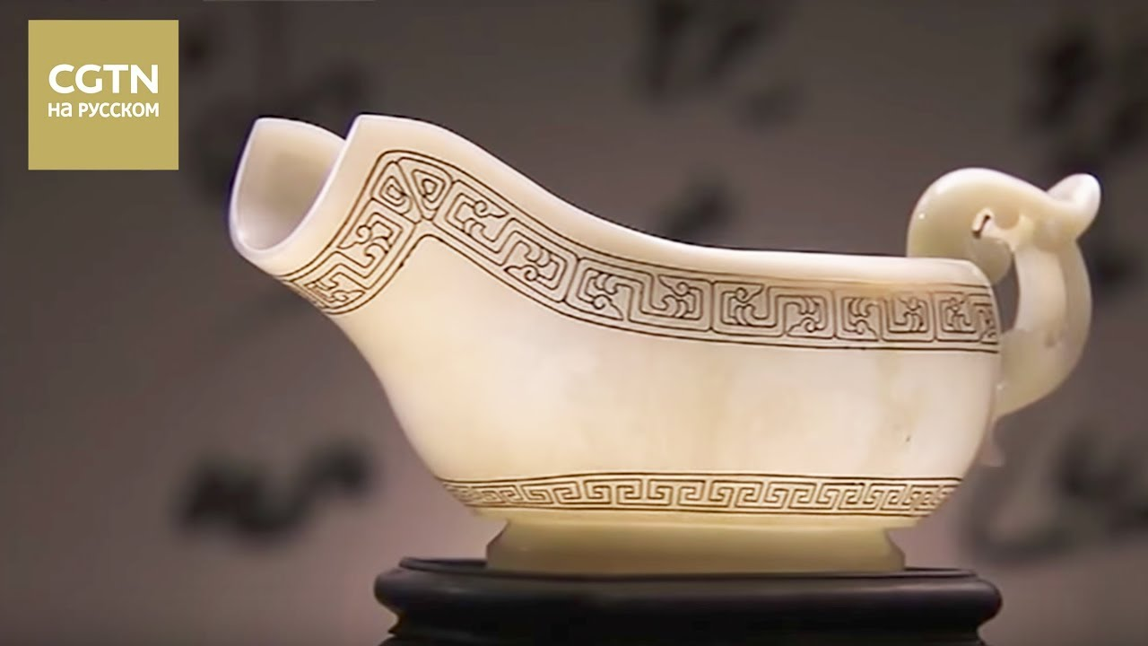 Мастерство ремесленников Серия 16 Изящество инкрустированных золотом нефритовых изделий[Age0+]