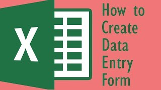 How to create Data Entry Form in Excel || Excel Tips & Tricks