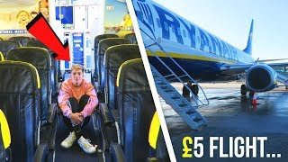 I went on The CHEAPEST Flight in THE WORLD (only £5...)
