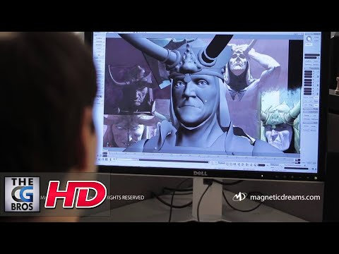 "CGI Animation Behind-the-Scenes Part 3 : Marvel's ""Thor & Loki: Blood Brothers"" by Magnetic Dreams"