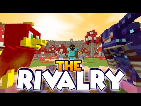 The RIVALRY of the BEAST !! - Minecraft Xbox : Run From The Beast