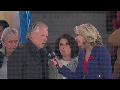 Lindgren's parents on him almost being a forward and nerves watching their son play