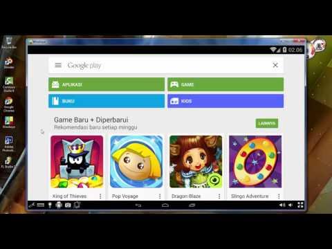 Cara menjalankan Aplikasi Android di PC