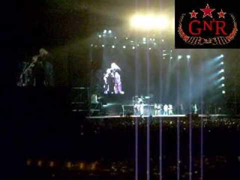 DESPEDIDA Y FINAL DEL CONCIERTO – GUNS N' ROSES TOUR CHINESE DEMOCRACY 2010 LIMA-PERU