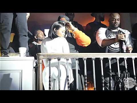 [HD] Lira Galore Showing Rick Ross PDA In Mansion Elan