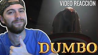 Vídeo Reacción:  DUMBO (2019) Tráiler/Teaser Español | Michael Keaton |  Eva Green | Tim Burton