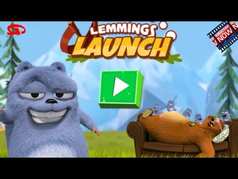 Grizzy And The Lemmings: Lemmings Launch (Boomerang Games)
