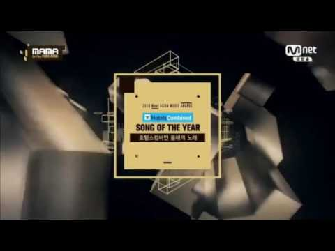 Twice (Win the Song of The Year 'Cheer Up') 2016 MAMA