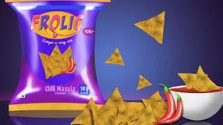 Digital Painting Timelapse   Frolic Snacks   Conceptual