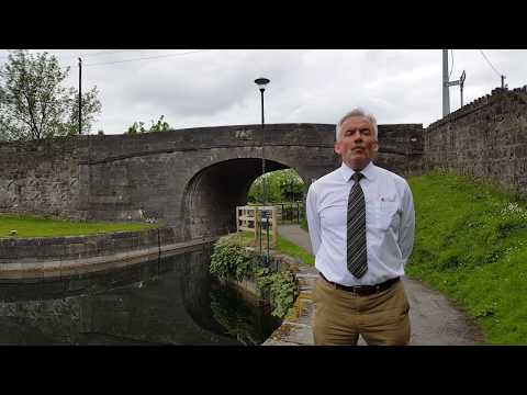 John McKeown talks to ADAPT about Waterways Ireland and the Royal Canal