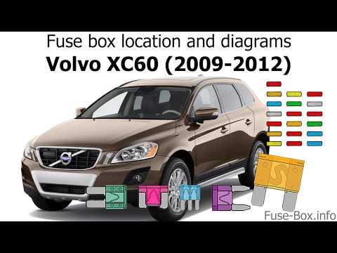 [TBQL_4184]  Fuse box location and diagrams: Volvo XC60 (2009-2012) - YouTube | Volvo Xc60 Interior Fuse Box |  | YouTube