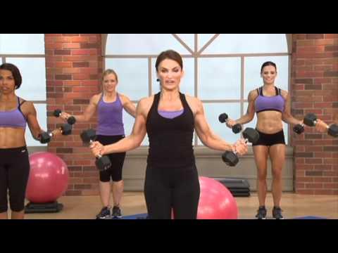 Cathe Friedrich's Total Body Tri-Sets Workout
